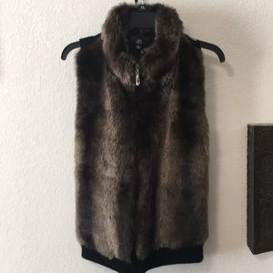 Lisa international Faux Fur Vest